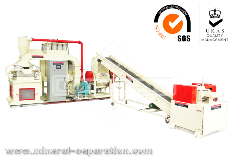 WL-600A Cable Recycling Machine