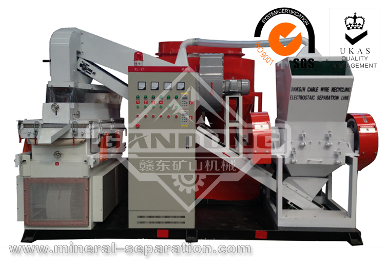 WL-600C waste copper wire/cable production line